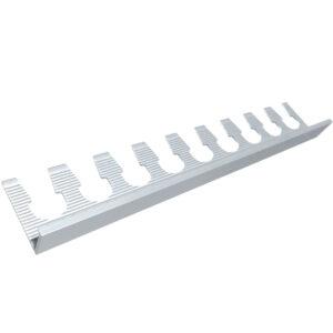 Listwa do gięcia narożna aluminiowa - anodowana srebrna3