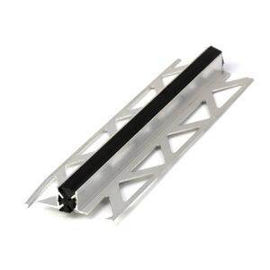 Listwa dylatacyjna czarna pcv z aluminium