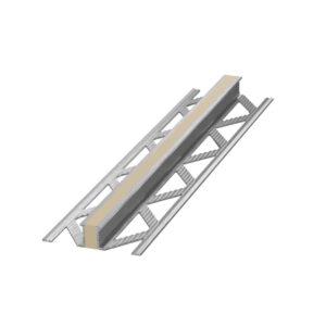 Listwa dylatacyjna wulkanizowana aluminium EPDM Beżowa