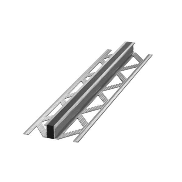 Listwa dylatacyjna wulkanizowana aluminium EPDM Czarna