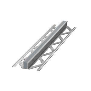 Listwa dylatacyjna wulkanizowana aluminium EPDM Szara