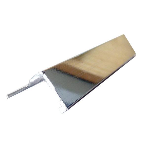 Listwa narożna aluminiowa prosta L polerowana ALP