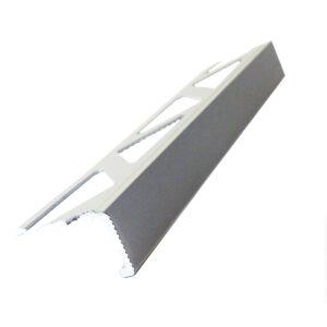 Listwa narożna aluminiowa prosta L anodowana srebrna ALP