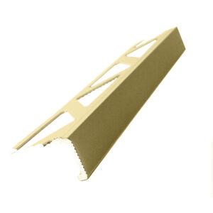 Listwa narożna aluminiowa prosta L anodowana złota ALP