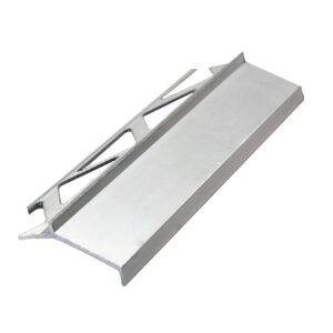 Listwa okapnikowa aluminiowa okapnik balkonowy tarasowy ALOK anodowany srebrny