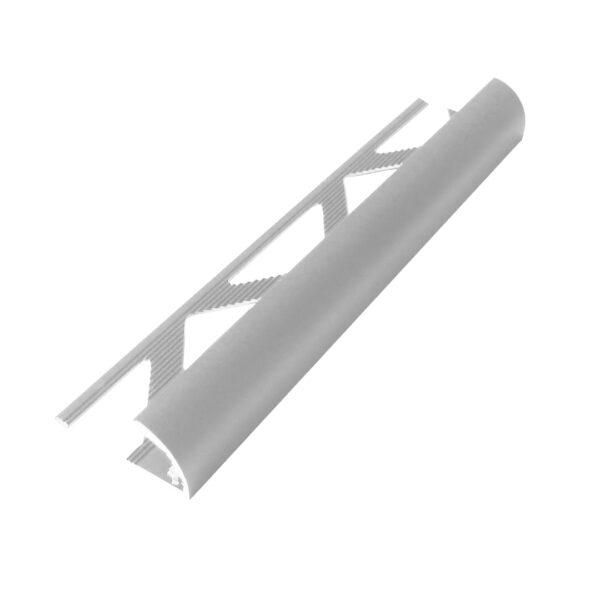 Listwa półokrągła narożna aluminiowa anodowana srebrna ALR