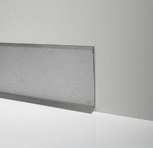 Listwa przypodłogowa stalowa satynowana Metal Line 790