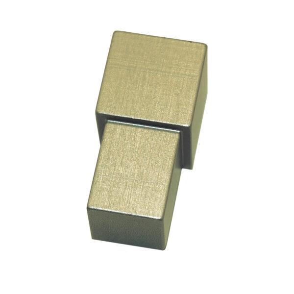 Narożnik zewnętrzny aluminiowy kwadratowy anodowany matowo oliwkowy ALNQ