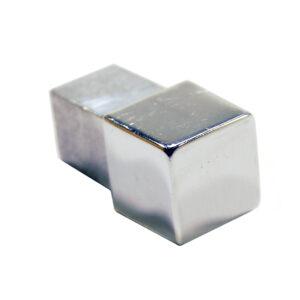 Narożnik zewnętrzny aluminiowy kwadratowy polerowany ALNQ