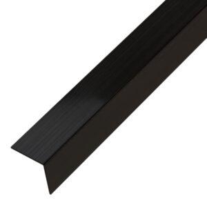 Narożnik ozdobny czarny matowy - do glazury - stalowy