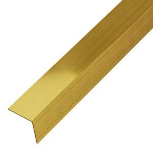 Narożnik ozdobny złoty matowy - do glazury - stalowy