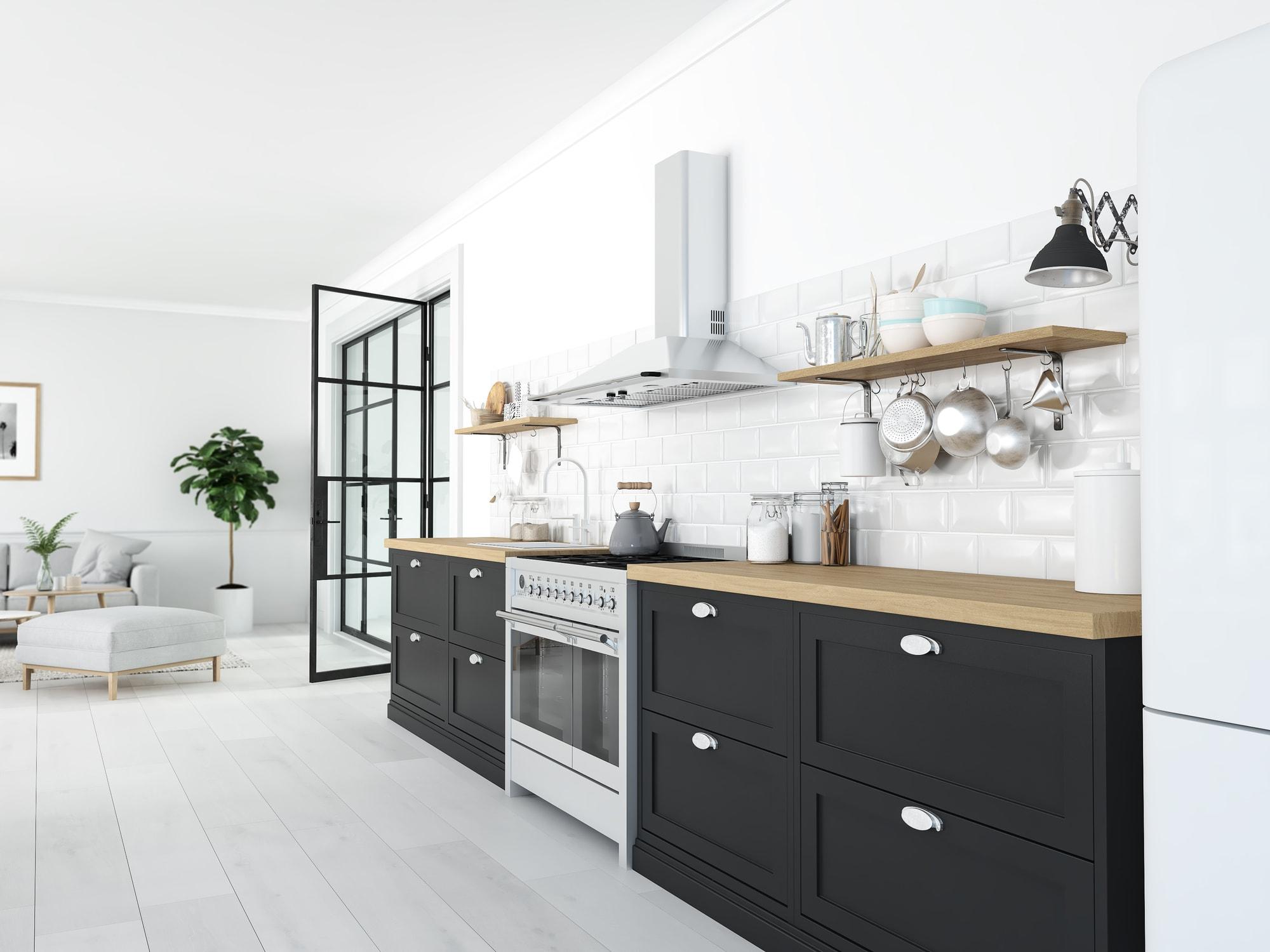 Jakie płytki do kuchni - białe