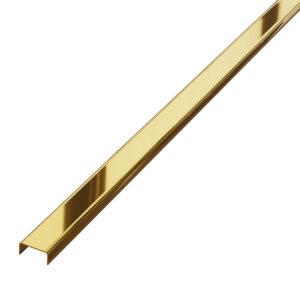 listwa dekoracyjna do płytek złota polerowana