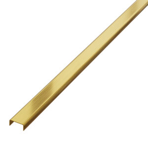 listwa dekoracyjna do płytek złota matowa