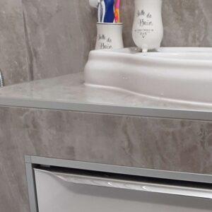 listwa kwadratowa narożnikowa do glazury z aluminium anodowanego srebrne