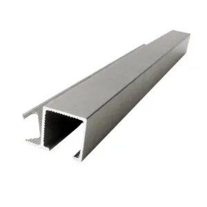 Listwa narożna aluminiowa kwadratowa anodowana srebrna