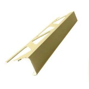Listwa narożna aluminiowa prosta L anodowana złota