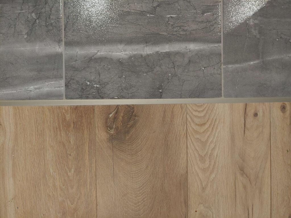 listwa wykończeniowa do paneli z aluminium anodowanego oliwkowa