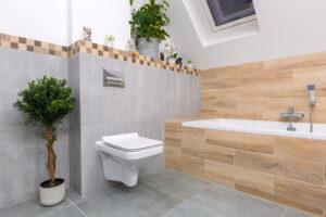 Listwy maskujące do płytek - łazienka