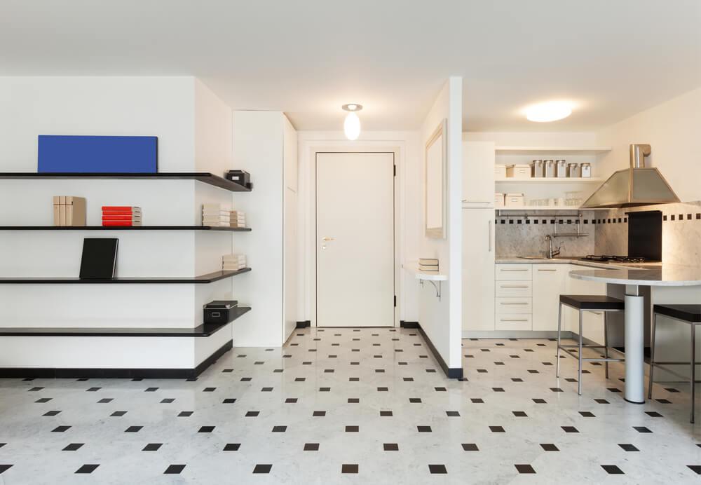 Płytki podłogowe do kuchni i przedpokoju