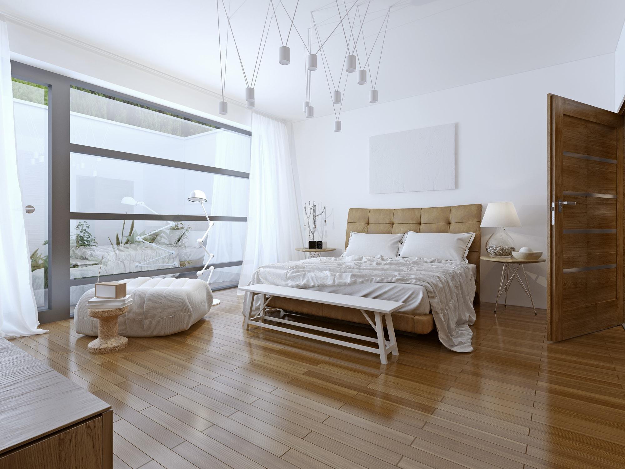 Podłoga w sypialni - płytki