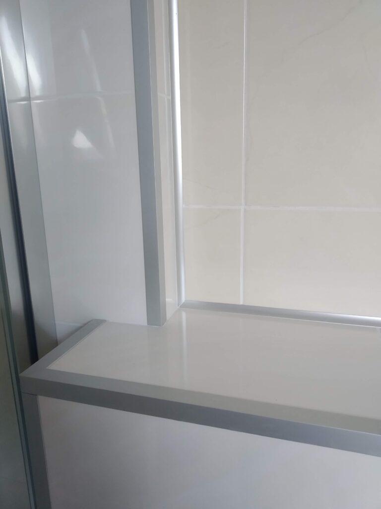 profil narożny wewnętrzny aluminium srebrne anodowane
