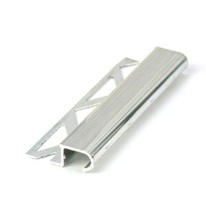 profil schodowy aluminiowy polerowany półokrągły